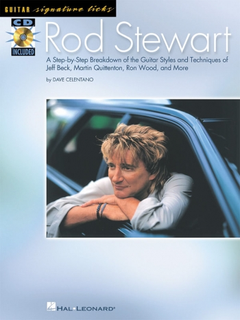Signature Licks: Rod Stewart: Guitar: Book & Cd