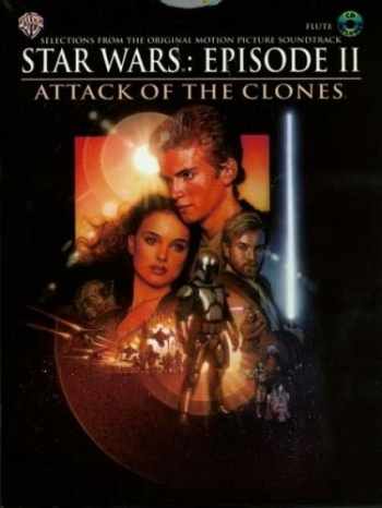 Star Wars Episode 2 Attack Of The Clones: Flute: Book & CD