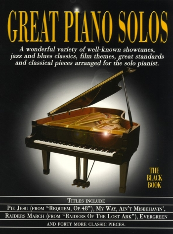 Great Piano Solos: The Black Book: Piano