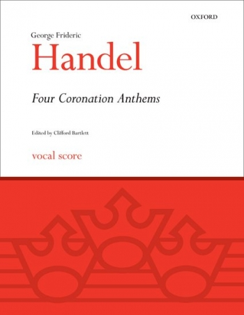 Four Coronation Anthems: Vocal Score