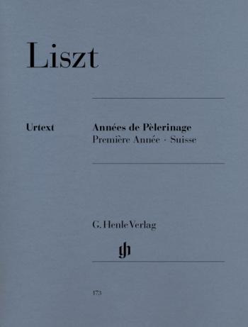 Annees De Pelerinage Premiere Annee Vol 1: Piano Solo (Henle)