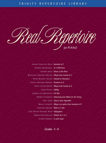 Trinity Repertoire Library: Real Repertoire: Grades 4-6: Piano