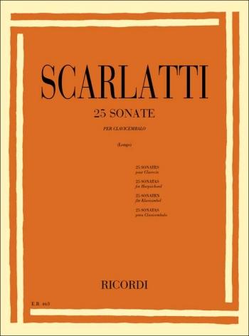 25 Sonatas: Piano  (Ricordi)