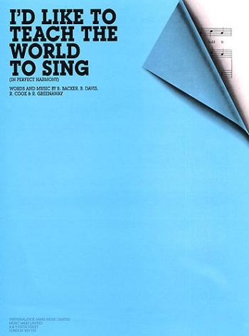 Id Like To Teach The World To Sing: Single