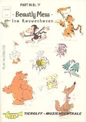 Beastly Mess: Bass Clef: Bassoon Or Cello: Book & Cd (kouwenhoven)