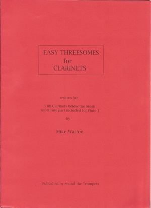 Easy Threesomes: Clarinet Trio