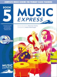 Music Express: Year 5: Teachers Book & CD  (A & C Black)