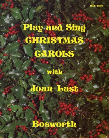 Play And Sing Christmas Carols: Pvg and Word Book