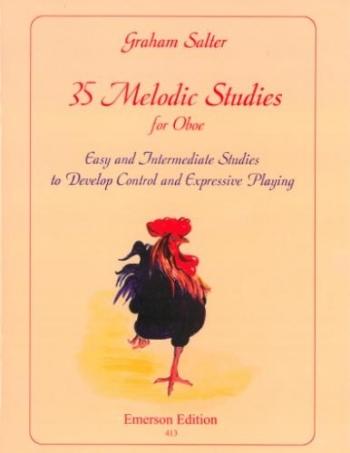 35 Melodic Studies: Oboe & Piano
