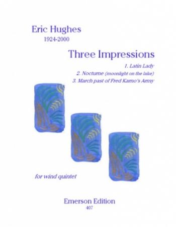 3 Impressions: Wind Quintet: Score and Parts