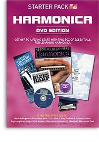 Harmonica Starter Pack - DVD Edition