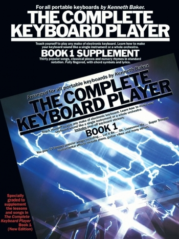 Complete Keyboard Player: Book 1: Supplement
