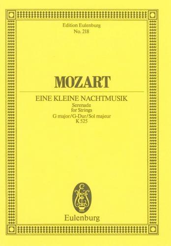 Eine Kleine Nachtmusik: G Major: Miniature Score