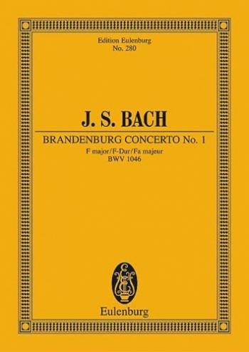 Brandenburg Concerto No.1: Bwv1046: Miniature Score