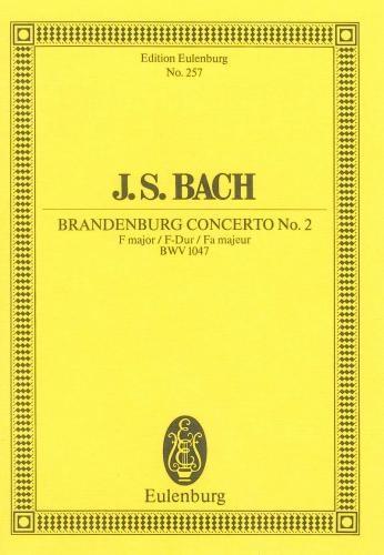 Brandenburg Concerto No.2: Bwv1047: Miniature Score