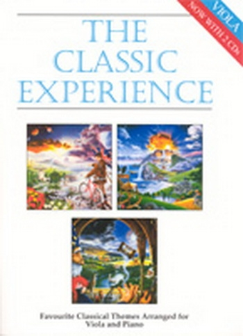 Classic Experience: Viola & Piano Book & CD