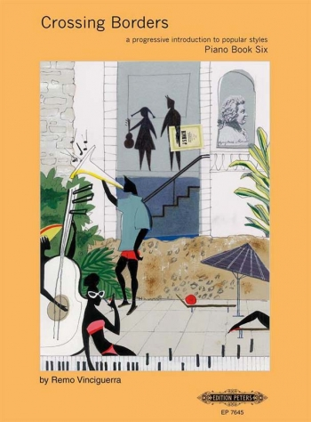 Crossing Borders Book 6: Piano