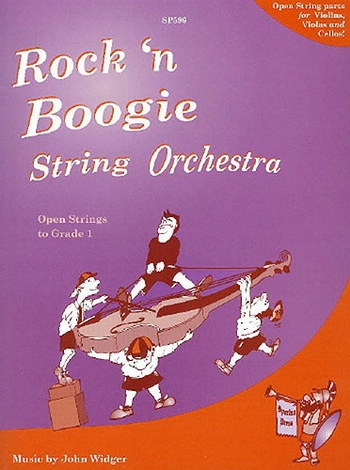 Flexible String Ensemble: Rock N Boogie: String Orchestra: Score and Parts (Widger)