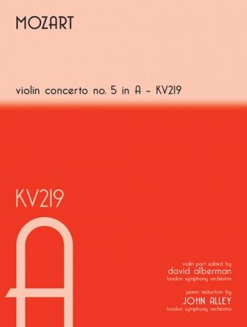 Concerto: A Major: No5: Kv219: Violin and Piano