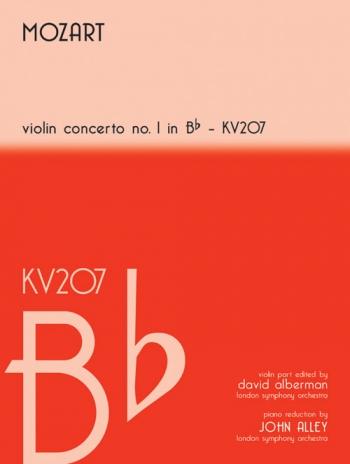 Violin Concerto No.6 Bb Major Kv207: Violin & Piano (Mayhew)