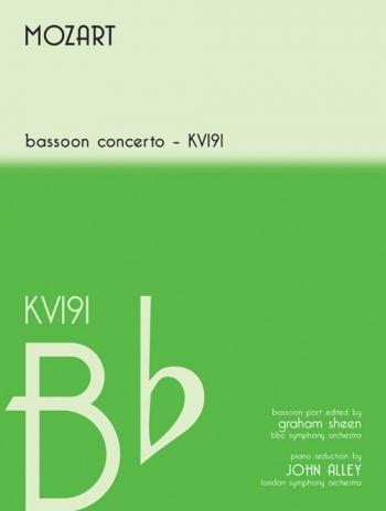 Bassoon Concerto Bb Major: Kv191: Bassoon & Piano (Mayhew)