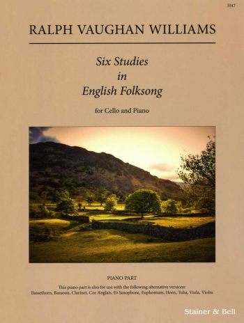 Studies In English Folk Song Six: Piano Accompaniment