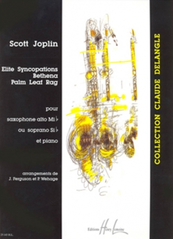 Elite Syncopations: Alto Saxophone & Piano