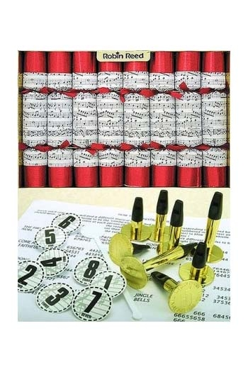Christmas Crackers - Box Of 8 - Concerto