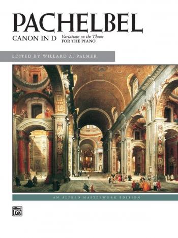 Canon In D: Piano Solo   (Alfred)