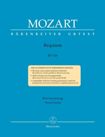 Requiem K626: Vocal Score (Barenreiter)  (Original)