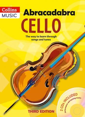 Abracadabra Cello Book 1: Pupils Book: Book & CD 3rd Edition (Passchier)  (Collins)