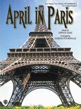 April In Paris: Piano Duet (Duke Arr Rocherolle)