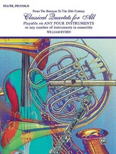 Classical Quartets For All: Flute Quartet
