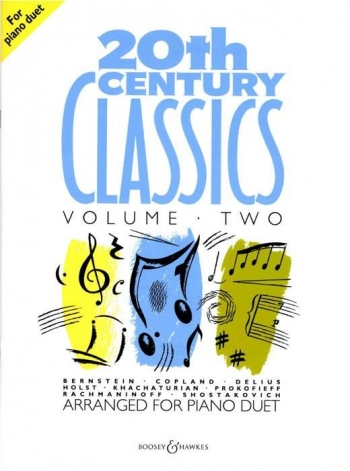 20th Century Classics: Vol,2: Piano Duet