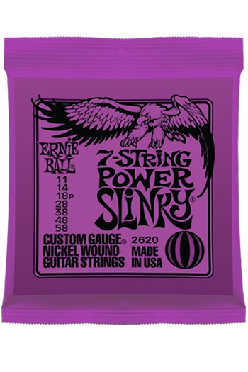 Ernie Ball 7 String Power Slinky Guitar Strings