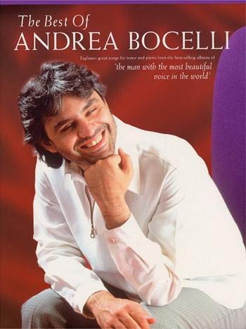 Andreas Bocelli: Best Of Andrea Bocelli: Tenor Voice: Piano Vocal Guitar