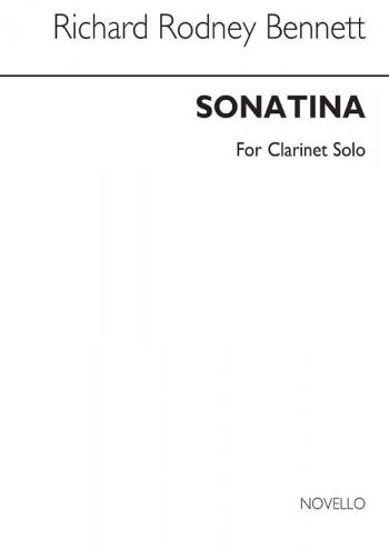 Sonatina: Clarinet Solo (Novello)