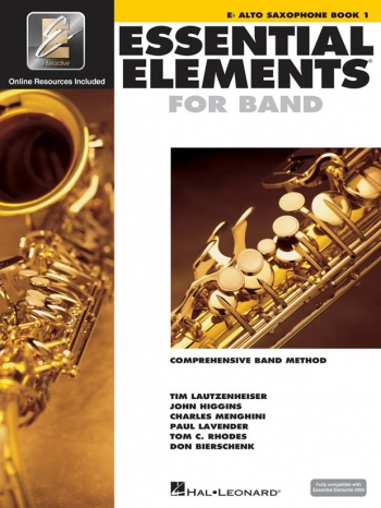 Essential Elements 2000: Book 1: Eb Alto Saxophone: Book & Download