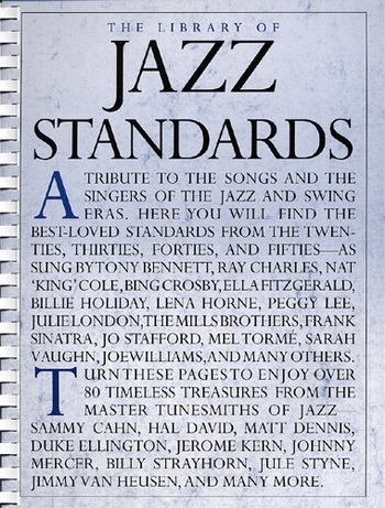 Library Of Jazz Standards: Piano