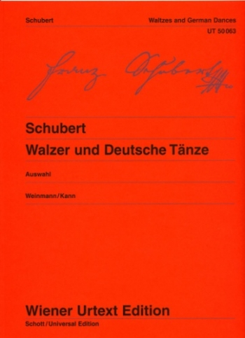 Walzer and Deutsche Tanze: Piano (Weiner Urtext)