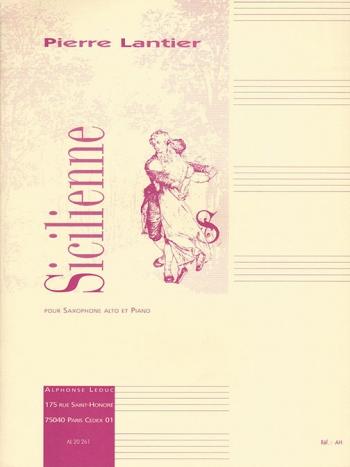 Sicilienne: Alto Saxophone