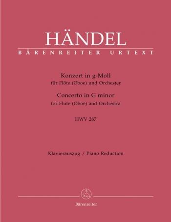 Flute Concerto G Minor: Flute & Piano (Barenreiter)
