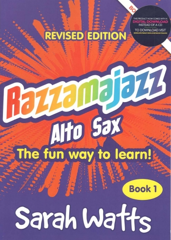 Razzamajazz: Alto Saxophone: Book 1  Revised