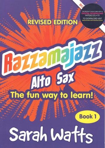 Razzamajazz Alto Saxophone Book 1: Book & CD (watts)