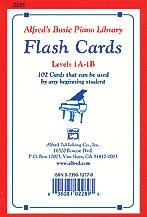 Alfred Flashcards: 1a And 1b: Basic Piano Library