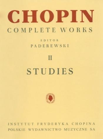 Complete Works Vol 2: Etudes (Studies): Piano (paderewski)