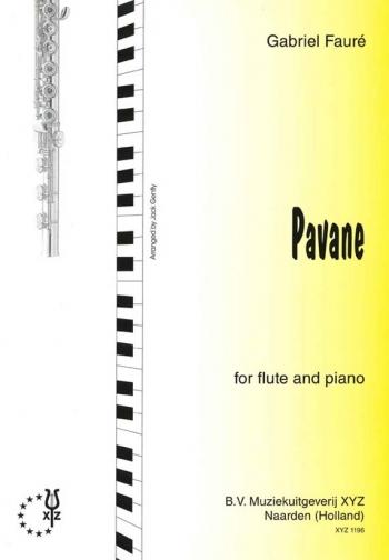 Pavane Op50: Flute & Piano (XYZ)