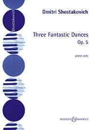 3 Fantastic Dances: Piano (B&H)