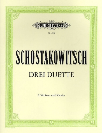 3 Duets: Violin Duet