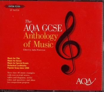 Aqa Gcse Anthology Of Music: Set Of 3 Cds